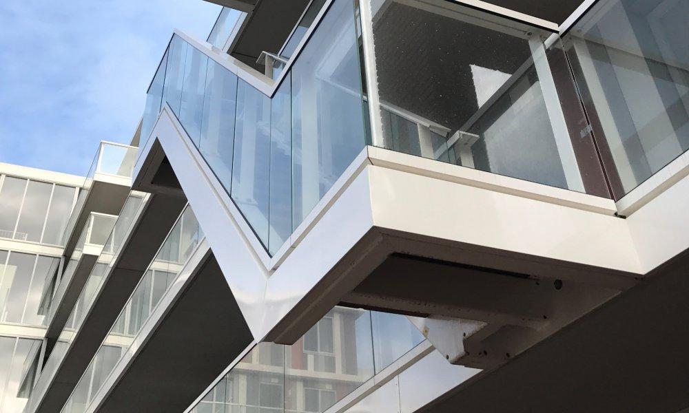 aluminium trap afwerking