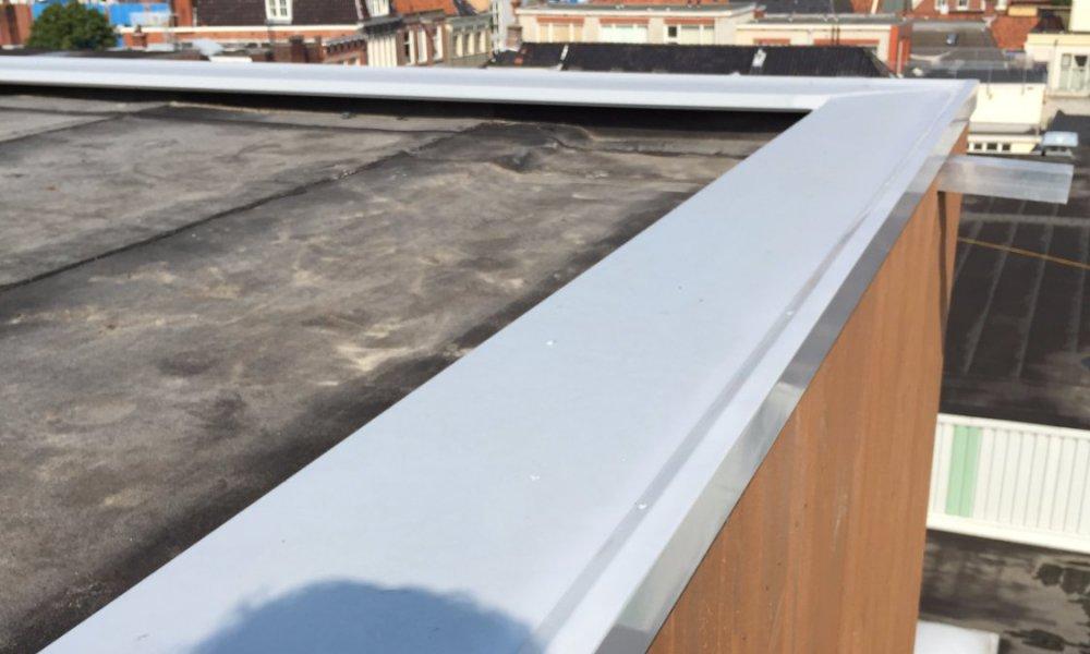 aluminium muurdekker