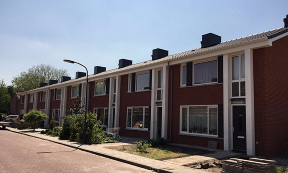 Geïsoleerde dakgoten